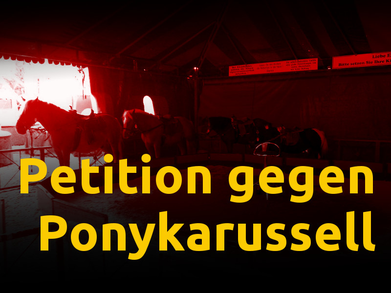 Petition gegen Ponykarussell
